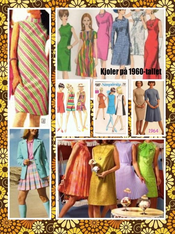 Kjoler på 1960-tallet