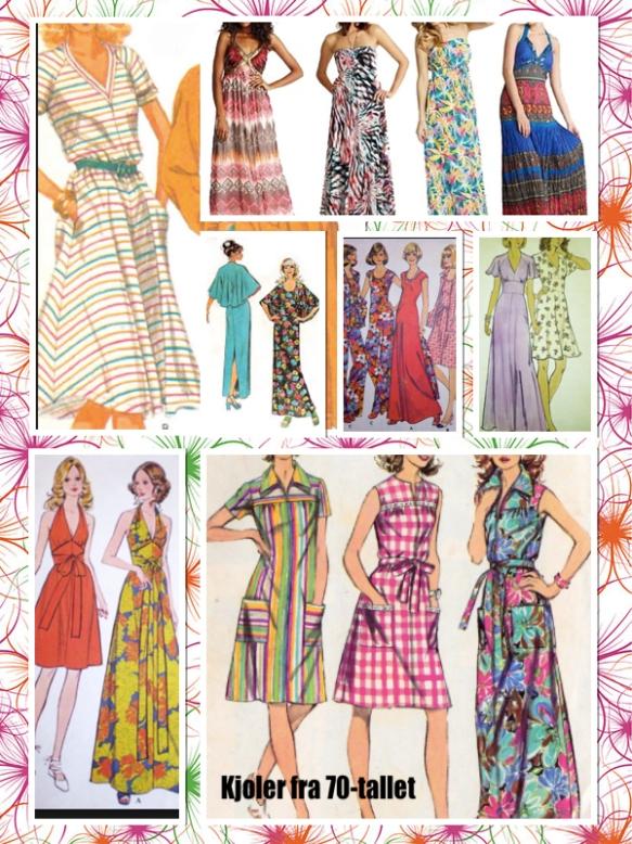 Kjoler på 1970-tallet
